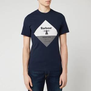 Barbour Beacon Men's Diamond T-Shirt - Navy