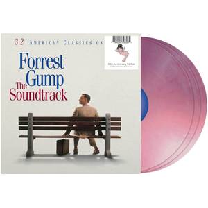 Forrest Gump: The Soundtrack 3xLP (Bubba Gump Shrimp Pink)