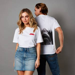 Jaws Unisex T-Shirt - White