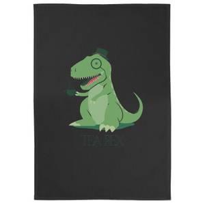 Tea Rex Cotton Black Tea Towel