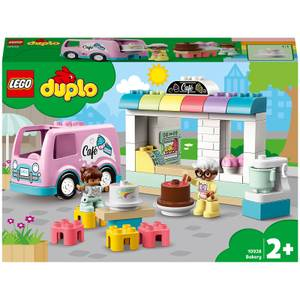 LEGO DUPLO Town: Bakery and Cafe Van Toy For Toddlers (10928)