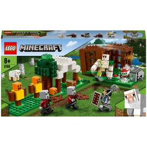 LEGO Minecraft: The Pillager Outpost Building Set (21159)