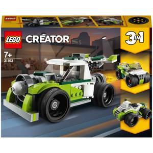 LEGO Creator: 3in1 Rocket Truck Construction Set (31103)