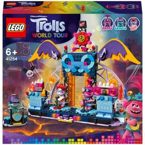 LEGO® LEGO® Trolls World Tour: Le concert de Vulcarock City (41254)