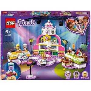 LEGO Friends: Baking Competition Set with Toy Cakes (41393)