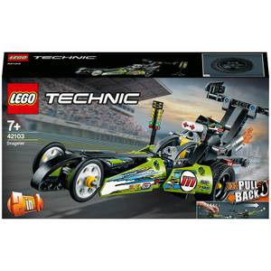 LEGO Technic: Dragster Car Toy to Hot Rod 2in1 Set (42103)