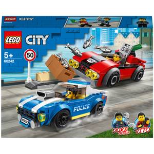 LEGO City: Police Highway Arrest Cars Toy Set (60242)