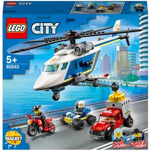 LEGO City: Police Helicopter Chase Building Set (60243)