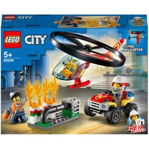 LEGO City: Fire Helicopter Response Building Set (60248)