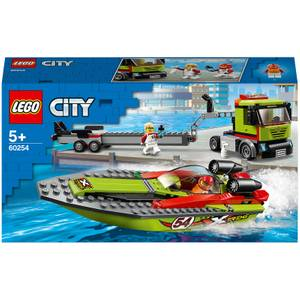 LEGO City: Great Vehicles Race Boat Transporter Set (60254)