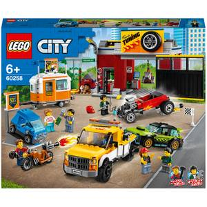 LEGO City: Nitro Wheels Tuning Workshop Building Set (60258)