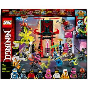 LEGO NINJAGO: Gamer's Market Minifigures: Set (71708)