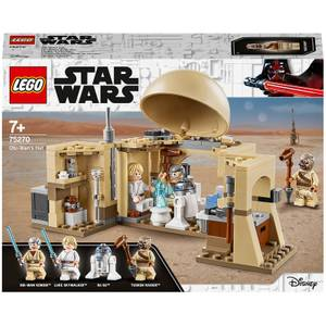 LEGO Star Wars: Obi-Wan's Hut A New Hope Movie Playset (75270)