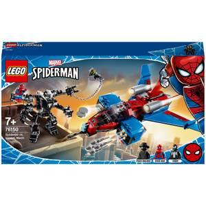 LEGO® LEGO® Marvel: Le Spider-jet contre le robot de Venom (76150)
