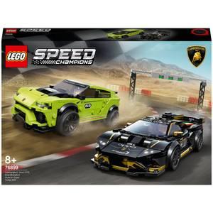 LEGO® Speed Champions: Lamborghini Urus ST-X & Lamborghini Huracán Super Trofeo EVO (76899)