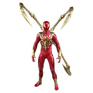 Hot Toys Marvel's Spider-Man Video Game Masterpiece Action Figure 1/6 Spider-Man (Iron Spider Armor) 30 cm