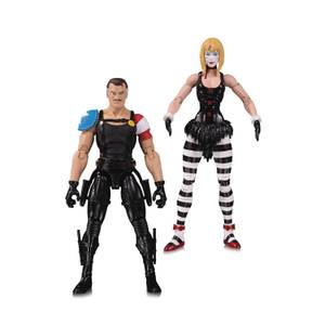 DC Collectibles DC Comics Watchmen Doomsday Clock - the Comedian & Marionett Action Figure 2-pack