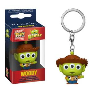 Disney Pixar Alien as Woody Pop! Keychain