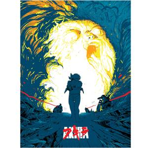 Akira Limited Edition Lithograph Print - Zavvi Exclusive