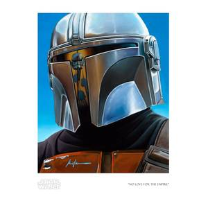 Star Wars: The Mandalorian - No Love For The Empire Giclee Print by Christian Waggoner