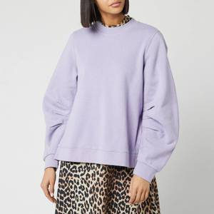 Ganni Women's Isoli Sweatshirt - Violet Tulip
