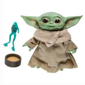 Hasbro Star Wars The Mandalorian The Child 7 1/2-Inch Electronic Plush Toy