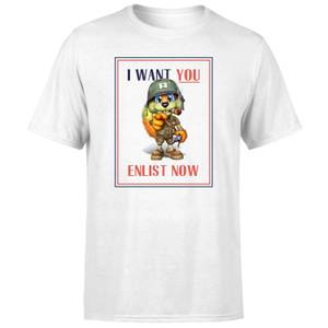 Conker I Want You T-Shirt - White