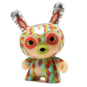 Kidrobot The Curly Horned Dunnylope by Jordan Elise Dunny Figure
