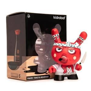 Kidrobot Tako's Revenge Dunny by Fakir 5 Inch Vinyl Figure