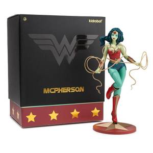 Kidrobot DC Comics Wonder Woman by Tara McPherson Medium Vinyl Figure