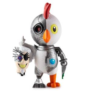 Kidrobot Adult Swim Robot Chicken Medium Vinyl Figure