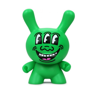Kidrobot Keith Haring Three Eyed Monster 8 Inch Masterpiece Dunny