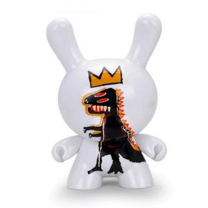 Kidrobot Jean-Michel Basquiat Pez Dispenser 8 Inch Masterpiece Dunny