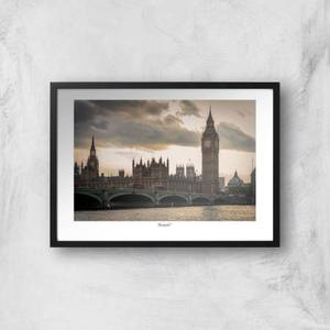 London Thames View Giclée Art Print