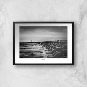 Seascape, New Brighton Giclée Art Print