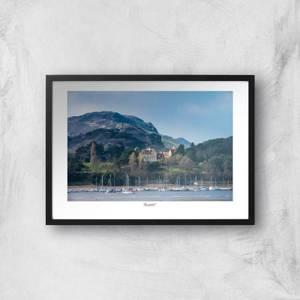Conwy River View Giclée Art Print