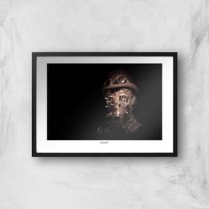 Steampunk Giclée Art Print