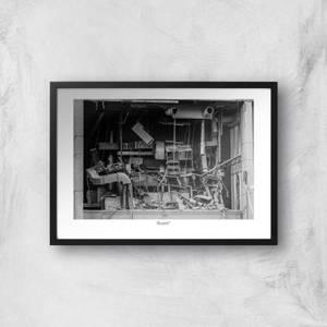Birmingham Tower Block Giclée Art Print