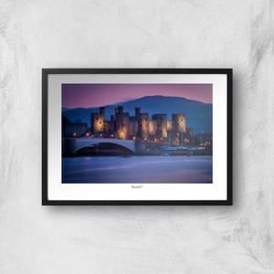 Conwy Castle Giclée Art Print