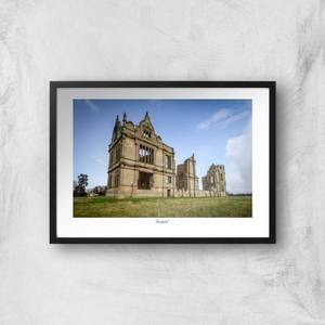 Moreton Corbet Castle Giclée Art Print