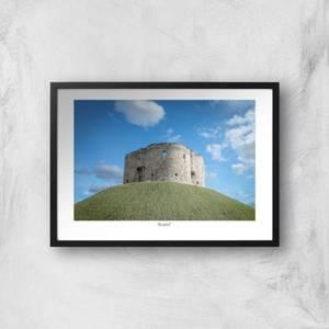 Cliffords Tower, York Giclée Art Print
