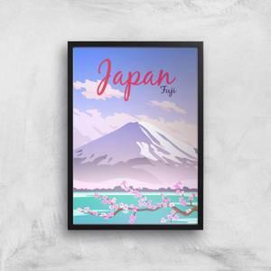 Visit... Japan Giclée Art Print