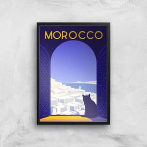 Visit... Morocco Giclée Art Print