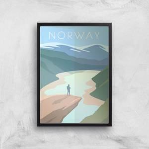 Visit... Norway Giclée Art Print