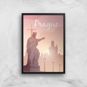 Visit... Prague Giclée Art Print