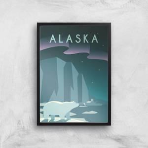 Visit... Alaska Giclée Art Print
