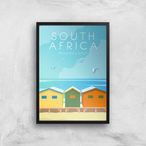 Visit... South Africa Giclée Art Print