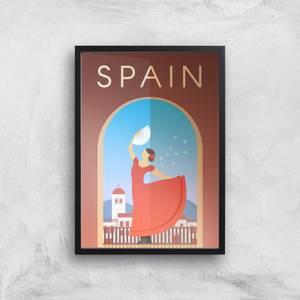 Visit... Spain Giclée Art Print