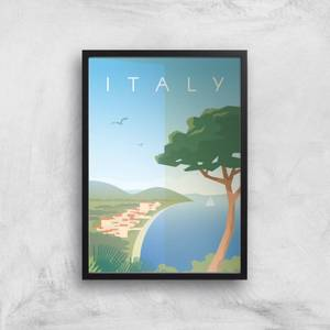 Visit... Italy Giclée Art Print