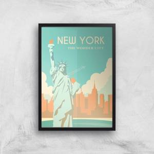 Visit... New York Giclée Art Print